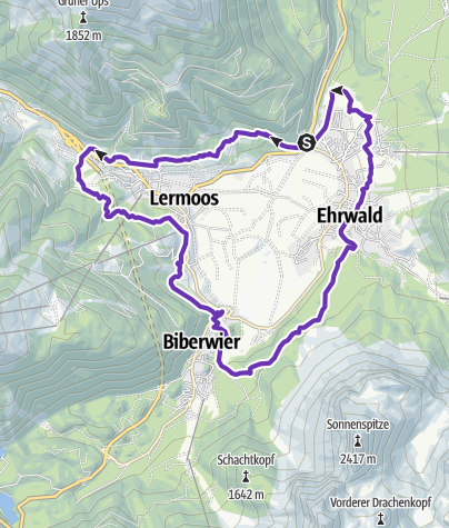 Karte / 360° TRAIL Talkesselrunde