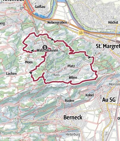 Map / Chumm und lueg Walzenhausen