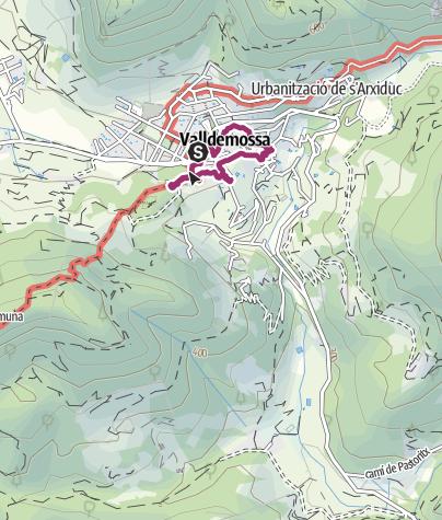 Map / Valldemossa