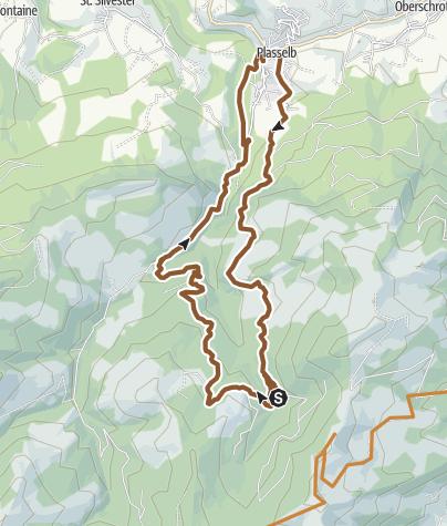 Karte / Höllbachtour - E-Bike