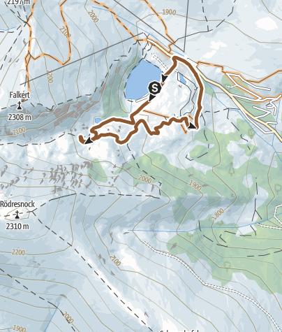 Karte / Falkert MTB Enduro Runde