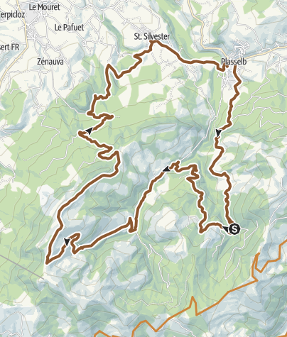 Karte / Käsebergtour - E-Bike