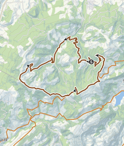 Karte / La Berratour - E- Bike