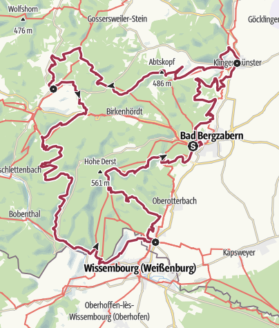 Map / Kapellen-Pilgerweg