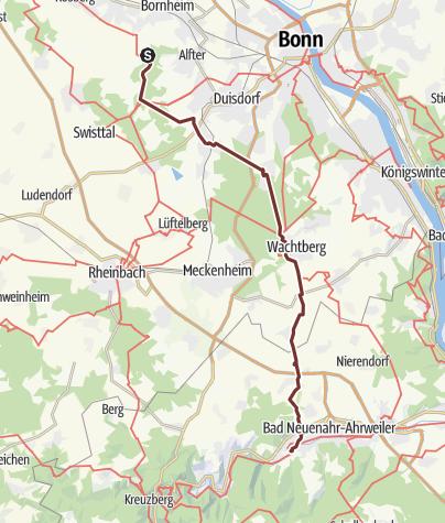 Carte / Bornheimer Ahrweiler Wallfahrt 2019