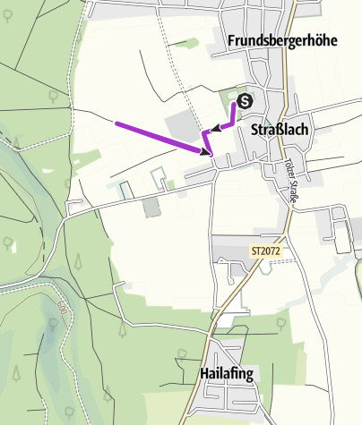Karte / 2 km Schülerlauf