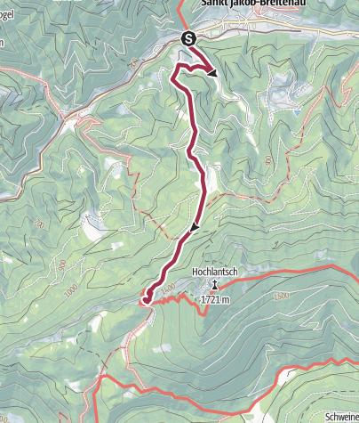 Karte / St. Jakob - Schüsserlbrunn