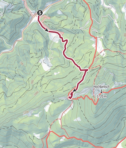 Karte / Schafferwerke-Schüsserlbrunn
