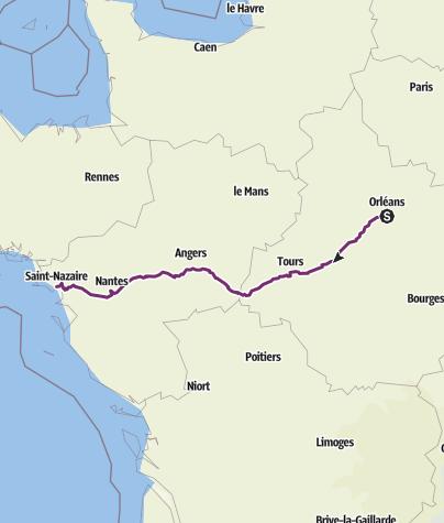 Karte / Loire EV 6
