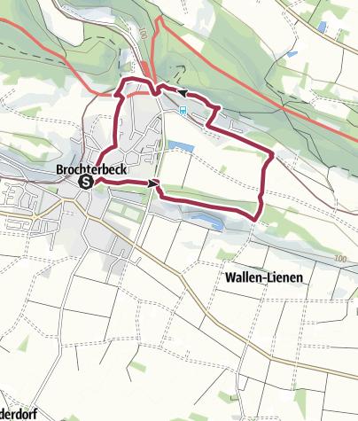 地图 / Teutoschleifchen Brochterbecker Landpartie