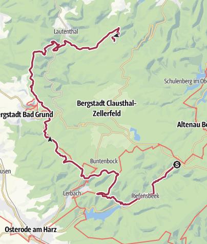 Map / Försterstieg Marathon, 07.11.2019, VP Km 24