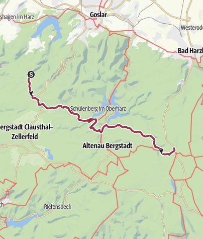 Map / Torfhaus Marathon, 03.11.2019, VP: Km 23,1 Km