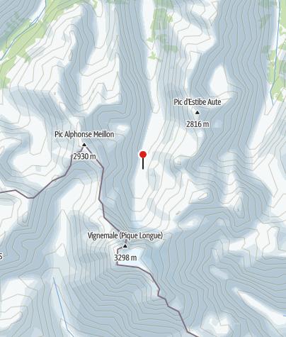 Karte / Oulettes de Gaube 2151m