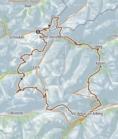 Карта / Warther Runde