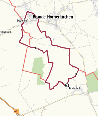 Карта / Groß Offenseth-Aspern März 2021