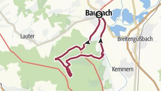 Karte / Wildschwein-Rundweg Baunach