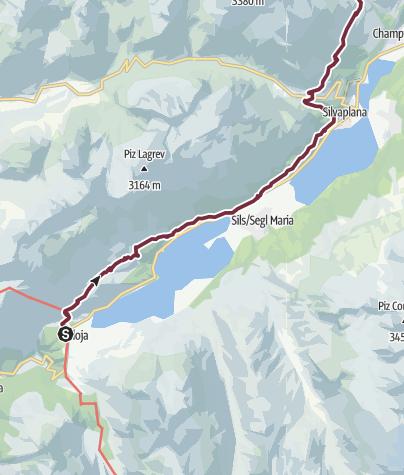 Map / 760 Via Engadina
