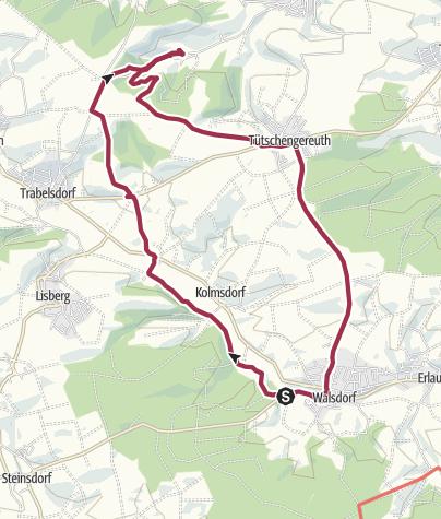 Mapa / Rundweg Walsdorf - Viereth-Weiher