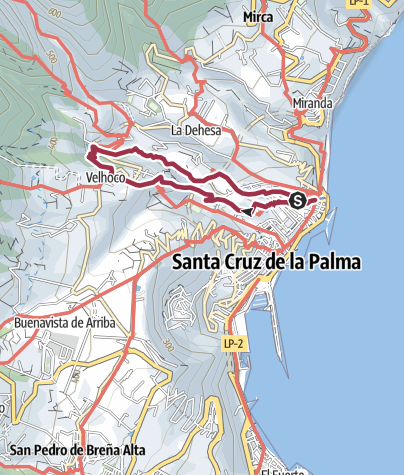 Map / Tour from GPX track at November 4, 2018