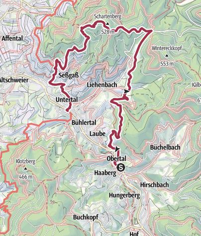 Karte / Schartenberg