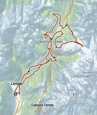 Cartina / Dolomitica Brenta Bike MARATHON 2020