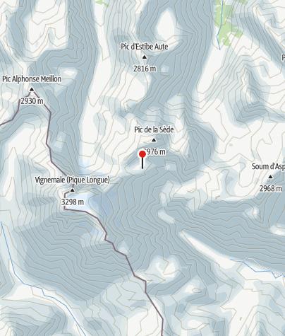 Karte / 2651m R.Baysselance