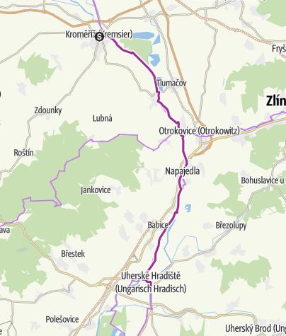 Karte / 7.5_Kroměříž_Uherské Hradiště
