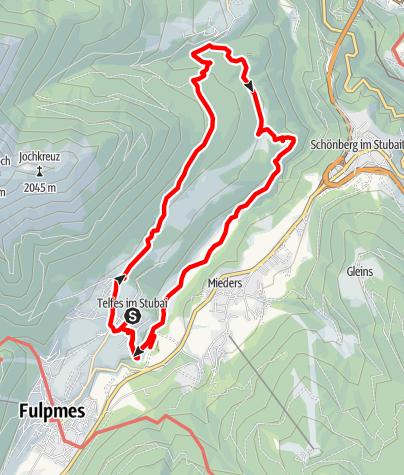 Karte / Stubaier Forelle - Vom Rosenduft zur Forellenzucht