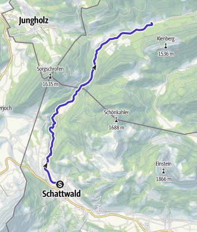 Map / Kajak Erlebnis Vils