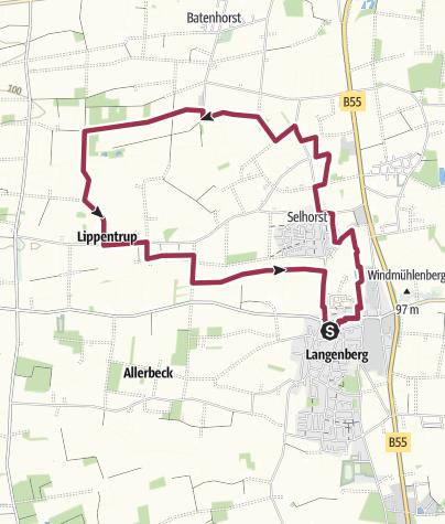 Map / B+H-2018-11-22: Langenberger Runde