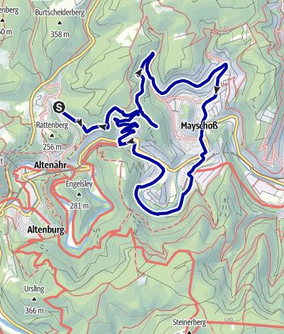 Karte / Sonniger Spätherbst an der Ahr