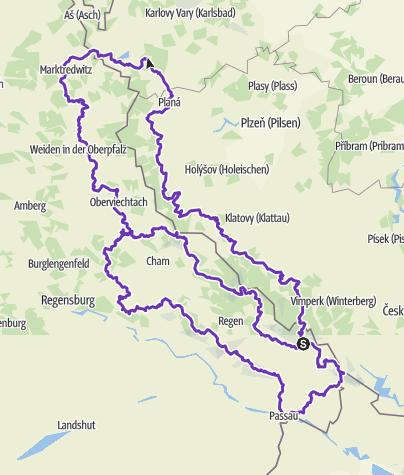 Karte / Megarace