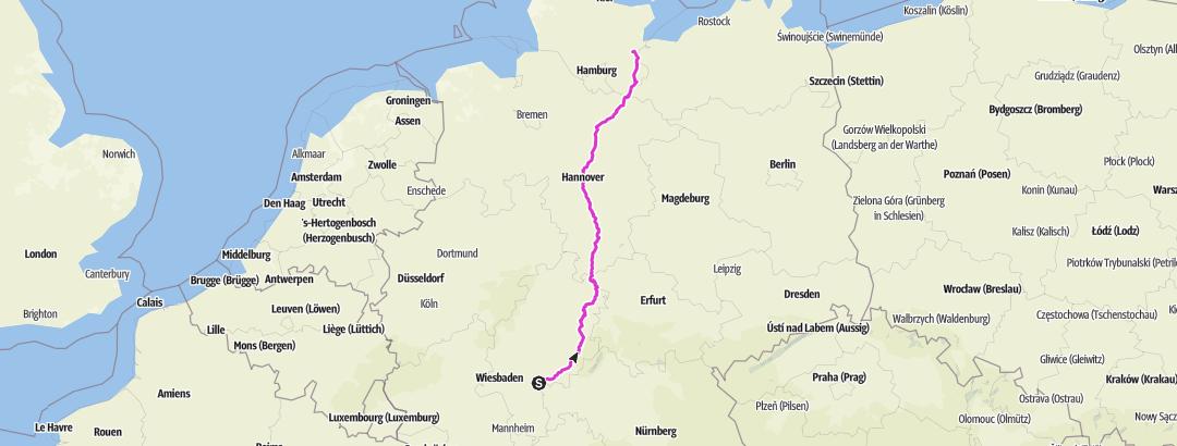 Térkép / Tourenplanung am 26. November 2018