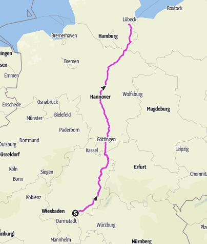 Karte / Tourenplanung am 26. November 2018