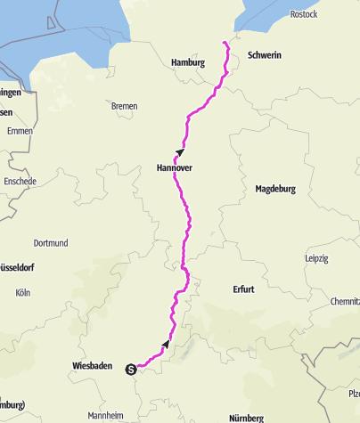 Карта / Tourenplanung am 26. November 2018