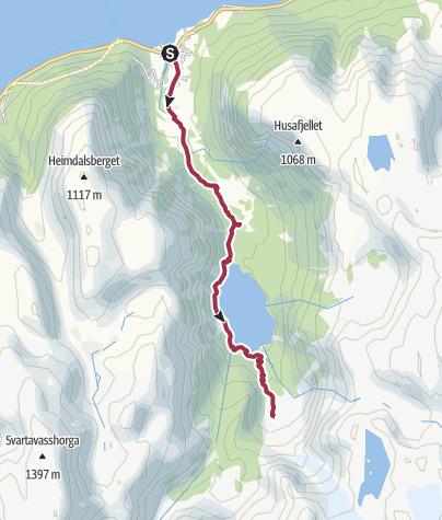 Map / Durch das Bondhustal