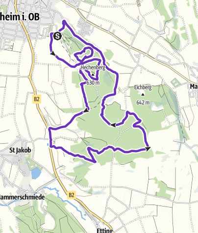 Karte / GögerlTrailRun
