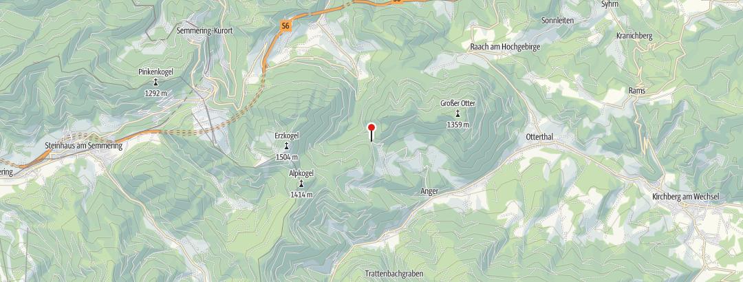 Karte / Buckltour - Alpkogellauf