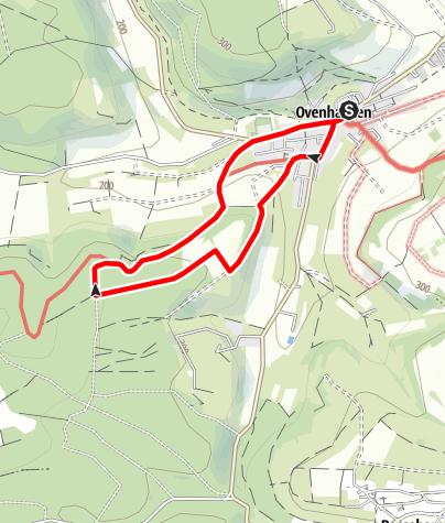 Karte / Ovenhausen Wanderweg IV B      (5 km)