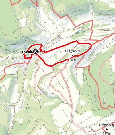 Karte / Ovenhausen Ortstour Hesse I      (5,5 km)