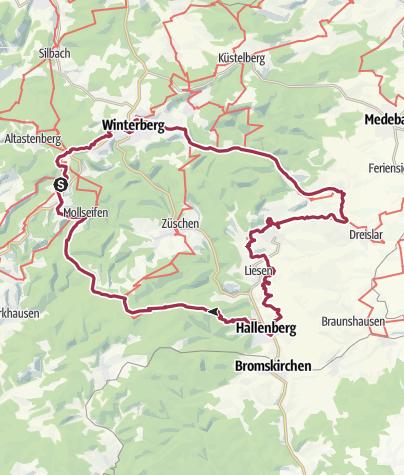 Karte / Sauerland - Wandergenuss