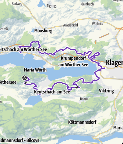 Karte / La Sportiva Marathon Trail