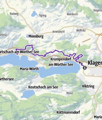 Karte / Panaceo Halbmarathon Trail