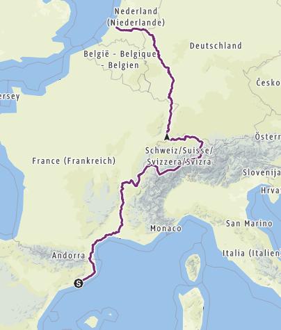 Karte / Tourenplanung Sommertour 2019
