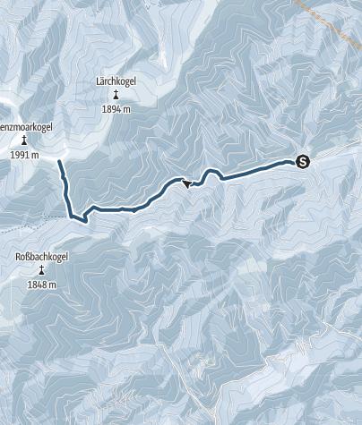 Karte / 2019 Gr.Speikkogel (Gleinalm)