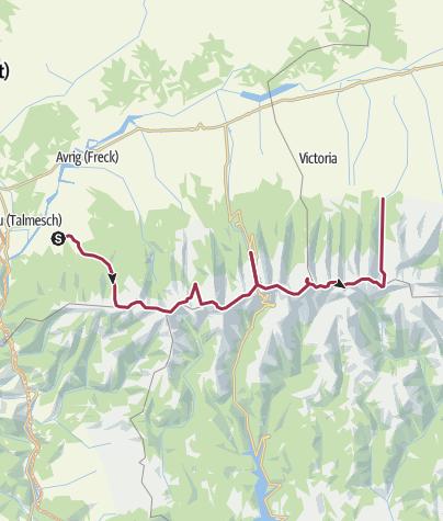 Karte / Sehr schöne Wanderung am Fagaras Gebirge Kamm