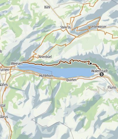 Karte / Walensee