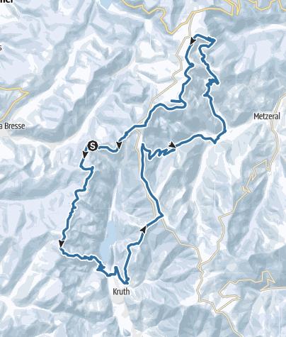 Map / Sneeuwschoenwandelen met Hilde