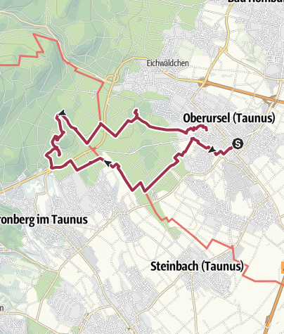 Map / Tour from GPX track at January 16, 2019