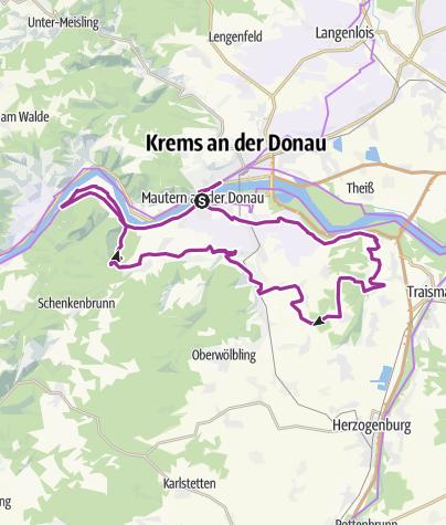 Karte / Vintage-Tour Wachau 2020